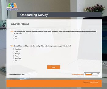 Onboarding Survey PeoplePulse